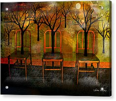 Waiting For A Miracle Acrylic Print by Sabine Stetson