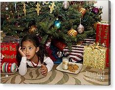 Waiting For Santa Acrylic Print by Sri Maiava Rusden - Printscapes