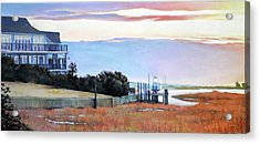 Waiting For Spring Acrylic Print by Christopher Reid