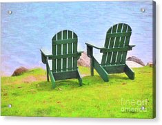 Waiting For You Acrylic Print by Betty LaRue