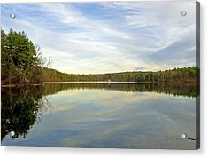 Walden Pond Acrylic Print by Frank Winters