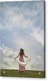 Walking Into The Sky Acrylic Print by Joana Kruse
