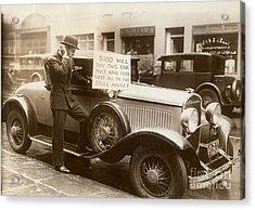 Wall Street Crash, 1929 Acrylic Print by Granger