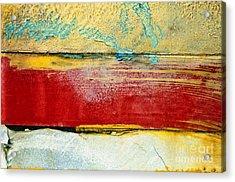 Wall Strip Acrylic Print by Ray Laskowitz - Printscapes