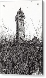 Wallace Monument Acrylic Print by Vincent Alexander Booth