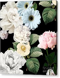 Wallflowers Acrylic Print by Mindy Sommers