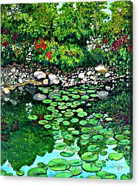 Wallingford Pond Acrylic Print by Will Lewis