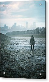 Wanderer Acrylic Print by Cambion Art