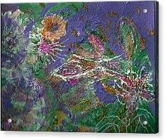 Wandering And Wondering Acrylic Print by Anne-Elizabeth Whiteway