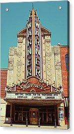 Warner Theatre, Erie, Pa Acrylic Print by Jim Zahniser