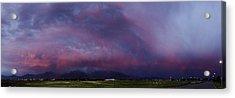 Wasatch Mountain Sunset Acrylic Print by La Rae  Roberts