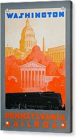Washington Dc IIi Acrylic Print by David Studwell