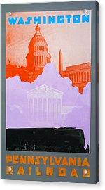 Washington Dc Vi Acrylic Print by David Studwell