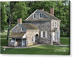 Washington's Headquarters At Valley Forge Acrylic Print by John Greim