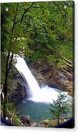 Washngton Falls1 Acrylic Print by Marty Koch