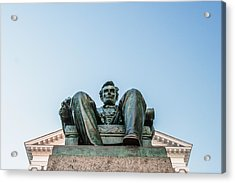Watchful Abe Acrylic Print by Todd Klassy