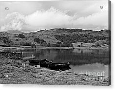 Watendlath Tarn In The Lake District Cumbria Acrylic Print by Louise Heusinkveld