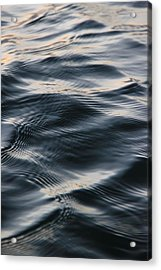 Water In Motion Acrylic Print by AR Annahita