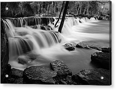 Waterfall Acrylic Print by James Barber
