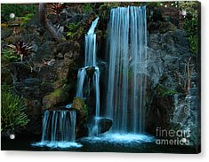 Waterfalls Acrylic Print by Clayton Bruster