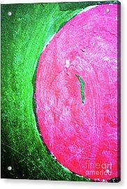 Watermelon Acrylic Print by Inessa Burlak