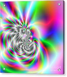Wave 002a Acrylic Print by Rolf Bertram