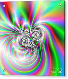 Wave 002c Acrylic Print by Rolf Bertram