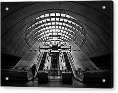 Way Out Acrylic Print by Ricky Siegers