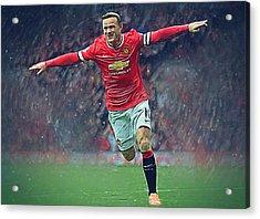 Wayne Rooney Acrylic Print by Semih Yurdabak