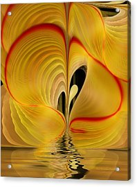 We Shall Feel It Within Our Being Acrylic Print by Gayle Odsather