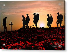 We Will Remember Them Acrylic Print by Stephen Smith