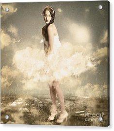 Weather Giants May Roam Acrylic Print by Jorgo Photography - Wall Art Gallery