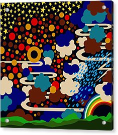 Weather Acrylic Print by Sholto Drumlanrig