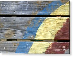 Weathered Acrylic Print by Jeannie Burleson