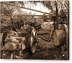 Well Pump Acrylic Print by Graham Taylor