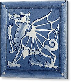 Welsh Dragon Panel Acrylic Print by Joyce Hutchinson