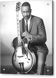 Wes Montgomery, Early 1960s Acrylic Print by Everett