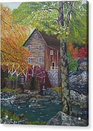 West Virginia Wonder Acrylic Print by Cathy Shepard