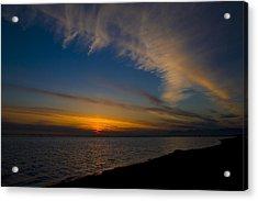 Westcoast Sunset Acrylic Print by Naman Imagery