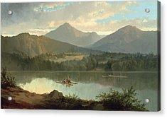 Western Landscape Acrylic Print by John Mix Stanley