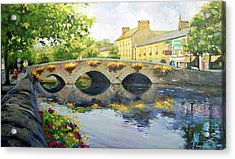 Westport Bridge County Mayo Acrylic Print by Conor McGuire