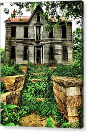 What Once Was Grand Acrylic Print by Julie Dant