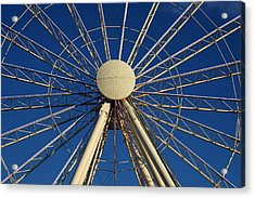 Wheel In The Sky Acrylic Print by Laurie Perry