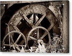 Wheels Of Time Acrylic Print by Gabriela Insuratelu