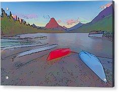 When Will We Row II Acrylic Print by Jon Glaser