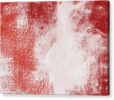Where It Takes You- Abstract Art By Linda Woods Acrylic Print by Linda Woods