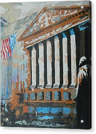 Where Money Is Made Acrylic Print by John Henne