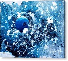 Where Stars Are Born Acrylic Print by Lee Pantas