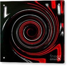 Whirlwind Acrylic Print by Marsha Heiken