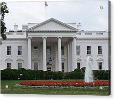 White House Acrylic Print by Vijay Sharon Govender